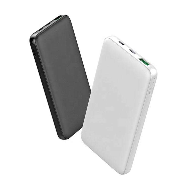 Free Shipping Portable Quick Charge 10000mah QC3.0 Powerbank Mobile Phone Fast Charging USB 18W Pd QC 3.0 Max 22.5W Power Bank