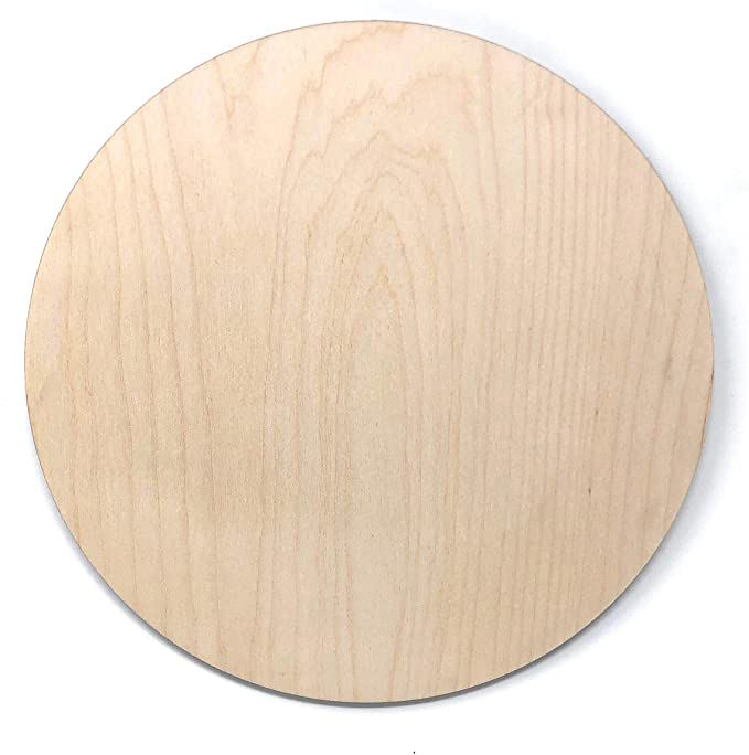 Unfinished Wood Rounds Sign Circle Blank Cutouts