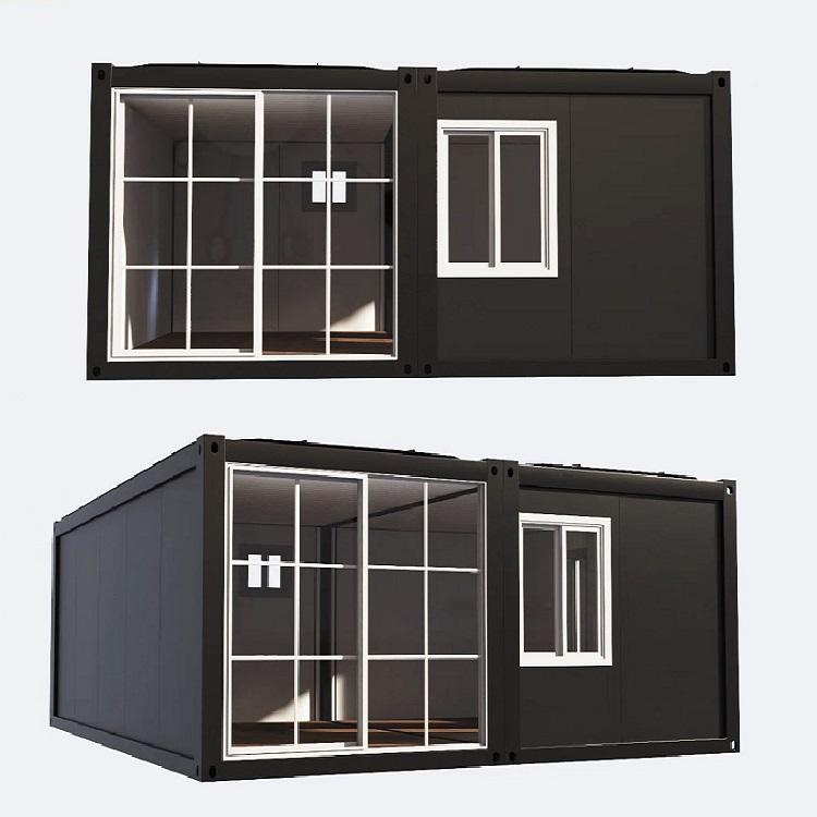 2020 china, estructura de acero, edificios de oficina almacén prefabricado productos Listo para envío casa contenedor 40ft