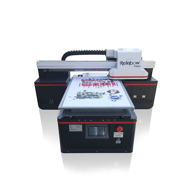 China suppliers A2 4060 T-shirt jeans skirt digital flatbed printer machine for sale popular in U.S. campus