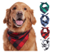 Head Scarfs Printed Bandana Scarf Custom Printed Logo Pet Dog Cat Puppy Bandana Bibs Triangle Head Scarfs Accessories