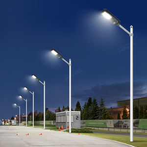 Super Heldere Energiebesparende Aluminium Ip65 Outdoor Waterdichte 200W 300W 450W All In One Solar Led Straat licht