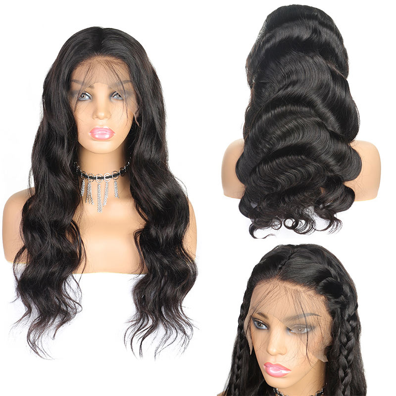 Vast HD Transparent Lace Front Human Hair Wigs 13x4 13x6 360 Brazilian Lace Frontal wig Body Wave Wig