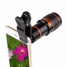Mobile Phone Camera Lens 12X Zoom Telephoto Lens External Telescope With Universal Clip for Smartphone