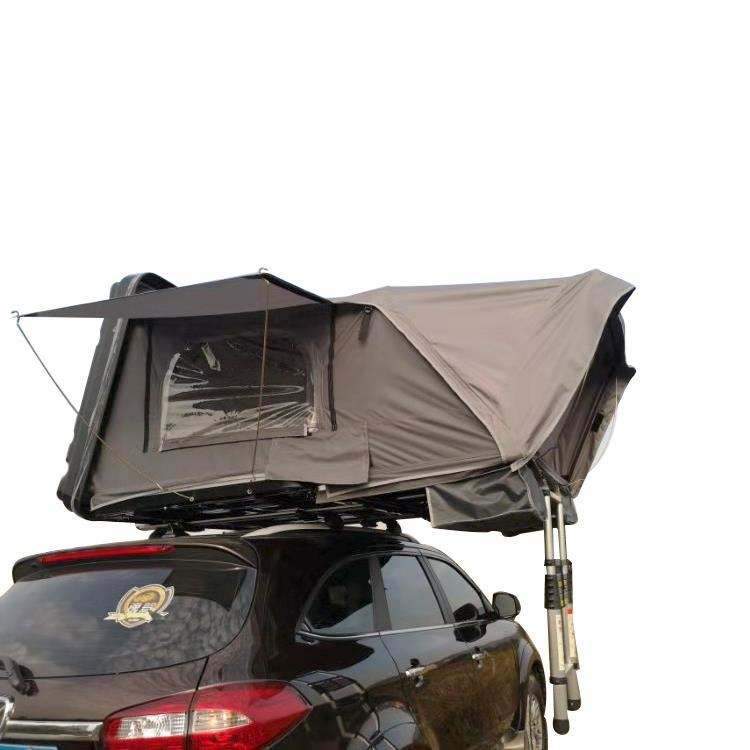 4 Persoon 4X4 Automatische Suv Auto Hard Shell Roof Top Tent Voor Camping
