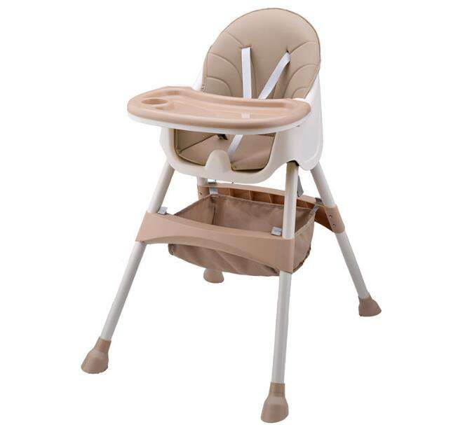 2020 Hot Sale Multi-function Aluminum tube Child Plastic High Baby Safety Chair For Feeding