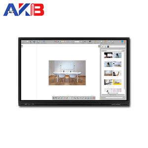 Interaktive Whiteboard System Multimedia Smart Control Unit mit PC Zentralverriegelung