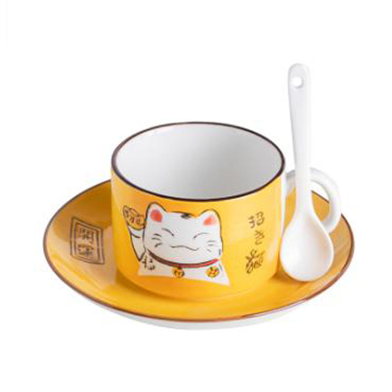 OXGIFT gros 2020 nouveau <span class=keywords><strong>3d</strong></span> chat chanceux forme simons tasse <span class=keywords><strong>en</strong></span> <span class=keywords><strong>céramique</strong></span> de porcelaine
