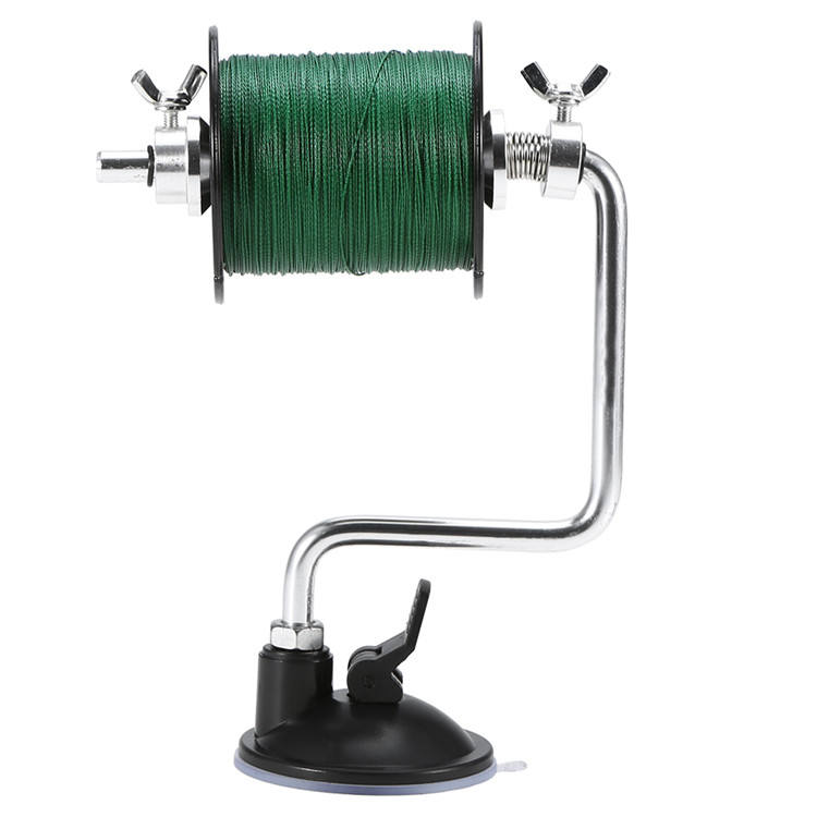 Adjustable Rod Fishing Line Reel Winder Stainless Steel Portable Winding Machine for Scissor Fishing Tools