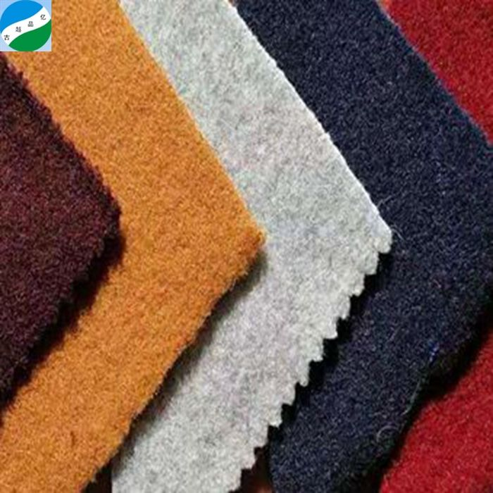 Wool Melton Knit Fabric Stock for Winter Coat Cheap Price Polyester Wool / Polyester,100%poly Knitting
