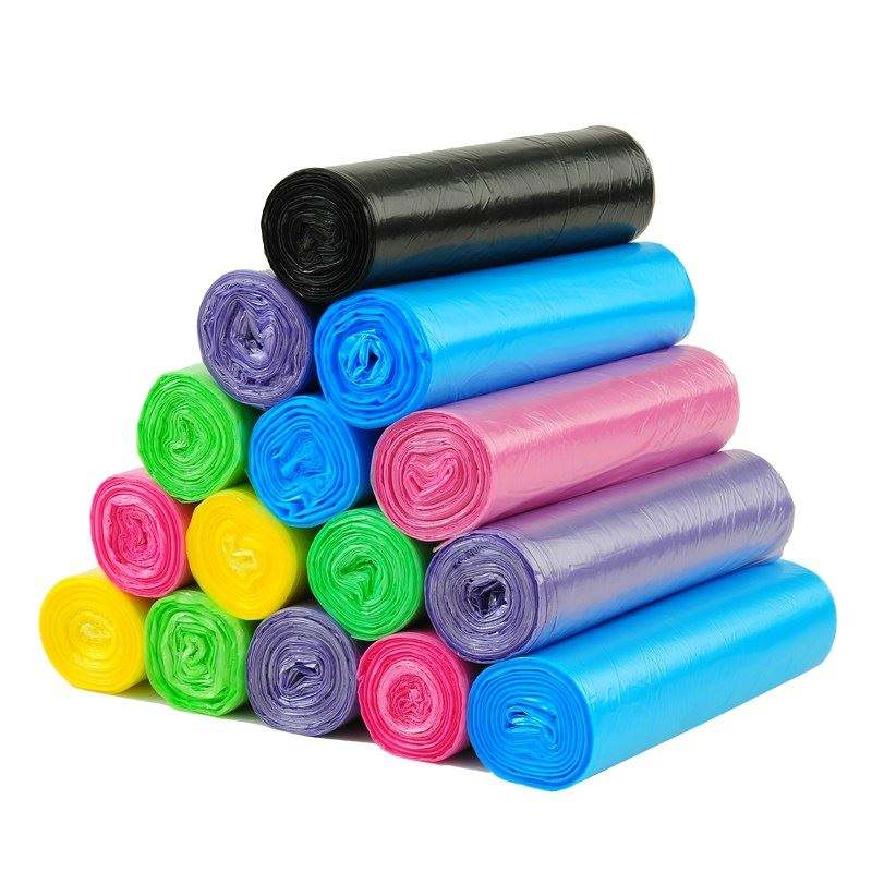 Biodegradable Plastic Trash Garbage Bags on Roll