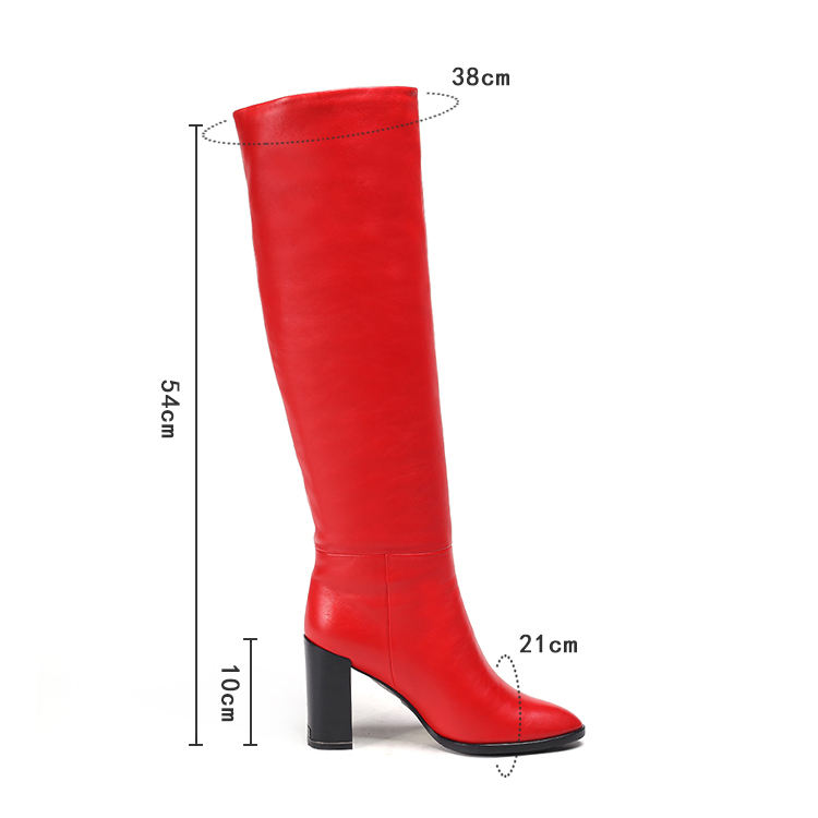 Genuine Leather Long Boots for Women and Girls 2019 New Fashion Factory Price Leather Shoes Manufacturer