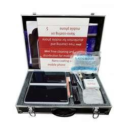 UV sterilizer multi function nano liquid coating machine with English voice for street vendor