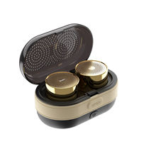 OneDer V17 TWS Portable Mini Speaker with Custom Bass Radiator Brief Design Speaker for Shower Room/Bike/Car