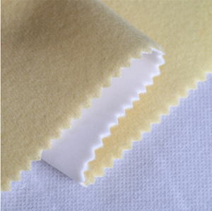 100 polyester tricot brushed super poly fabric for lining