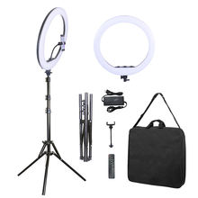 21 Inch 53cm LED Ring Light 3000-6000K Dimmable with 2m Stand for Video Studio Photography Lighting