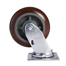 "2020 wholesale High quality heavy duty 6 "" polyurethane swivel industrial caster wheels with good price"