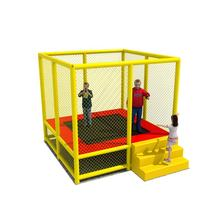 Promotional kids' toys bungee trampoline, cheap indoor mini trampoline exercises for sale