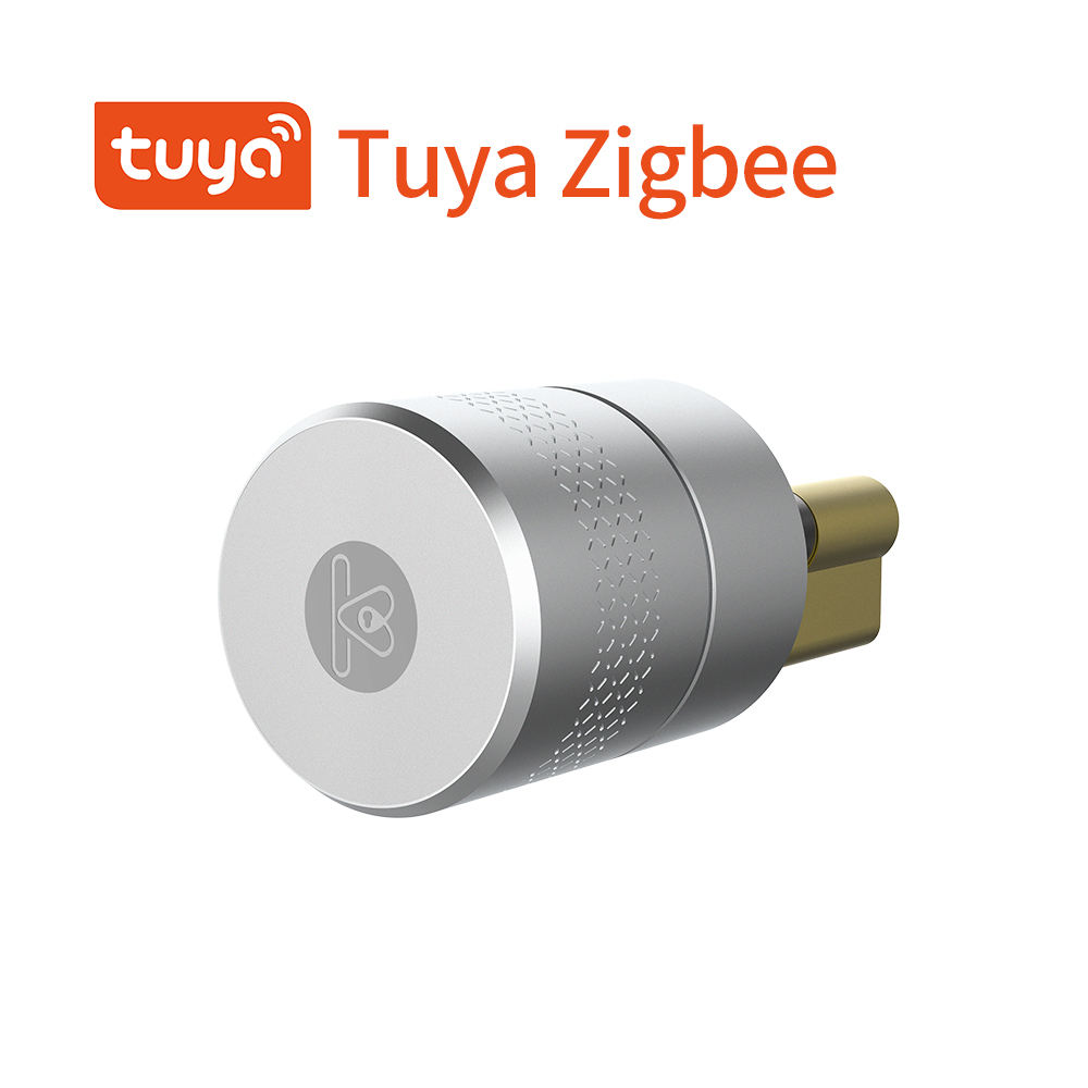 Tuya smart lock security zigbee electronic door lock euro smart cylinder smart door lock cylinder