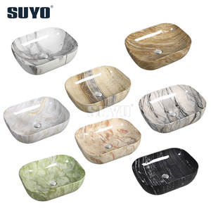 Countertop Marble Stone Ceramic Wash Hand Basin Bathroom Vessel Sinks Face Bowls
