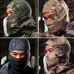 Quick Dry Breathable Typhon Tactical Balaclava Neckerchief Mask Airsoft Paintball Full Face Motorcycle Cycling Hunting Scarf