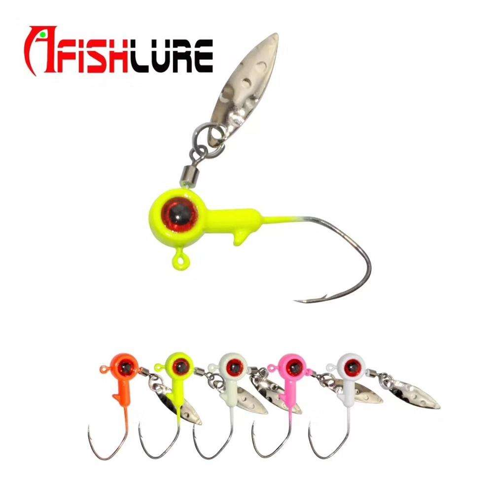 Wholesale 300 Soft Molded 3D Holographic Fish Eyes Fly Jig Lure 8mm Real Hot