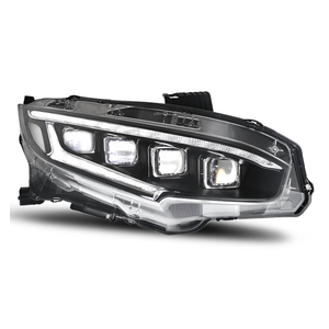 Full Led Headlamp For Honda Civic 2016 2017 2018 Front Lamp For Civic 10Th Gernareation Car Dynamic