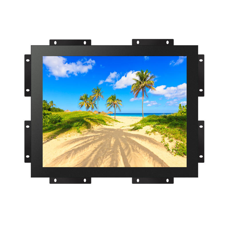 Open Frame Embeeded 15 inch Metalen Behuizing Industriële Touch Screen Computer Monitor