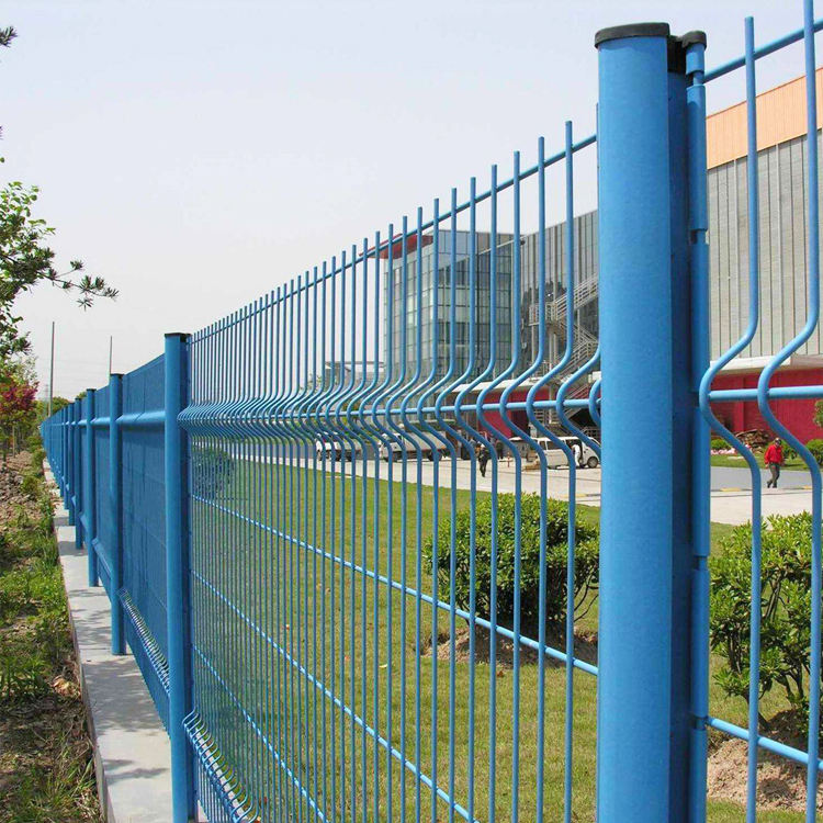 Galvanized Fence Steel 3D Fence Panel Galvanized Steel 3d Wire Mesh Fence Panel