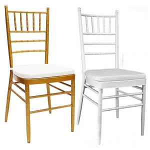 new metal luxury white tiffany chivalry dining chair for restaurant and weeding