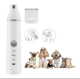 Hot sale waterproof rechargeable 3 speed mini Pet Grooming Kit for pet