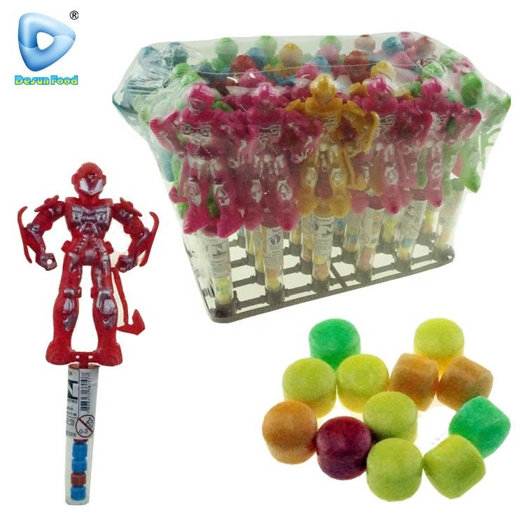 New item Robot cartoon toy candy