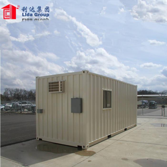 Modular edificio portátil 20ft contenedor de envío Oficina para venta