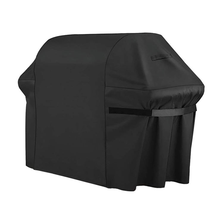 PVC coated black waterproof and UV resistant outdoor bbq heavy duty gass grill cover