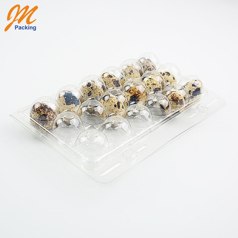 Quail Eggs Plastic Package Tray,18 Holes Quail Egg Blister Tray