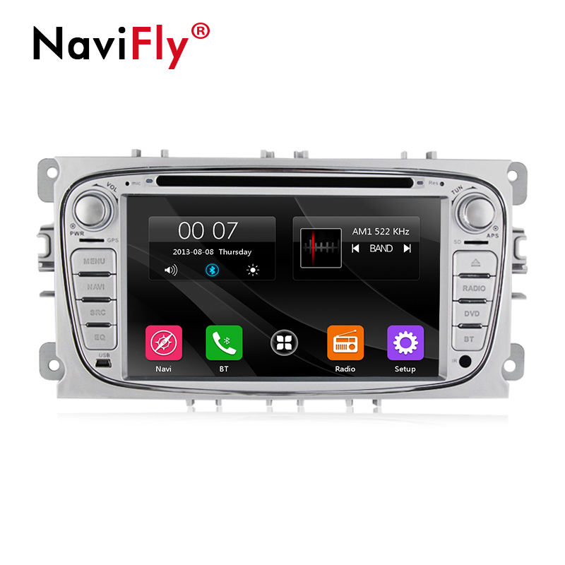 "NaviFly 7 ""wince 6.0 2 din Car + video For Ford Focus Kuga Mondeo S-Max Fiesta C-Max Connect Fiesta Fusion Galaxy"