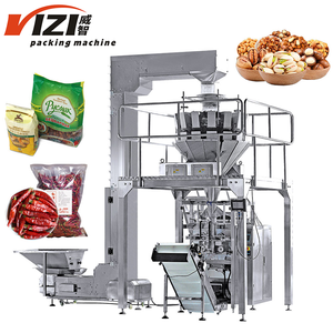 Verticale Collation Pâtes D'arachide Riz Croustilles Machines D'emballage Alimentaire Machine à Emballer Automatique de Poche