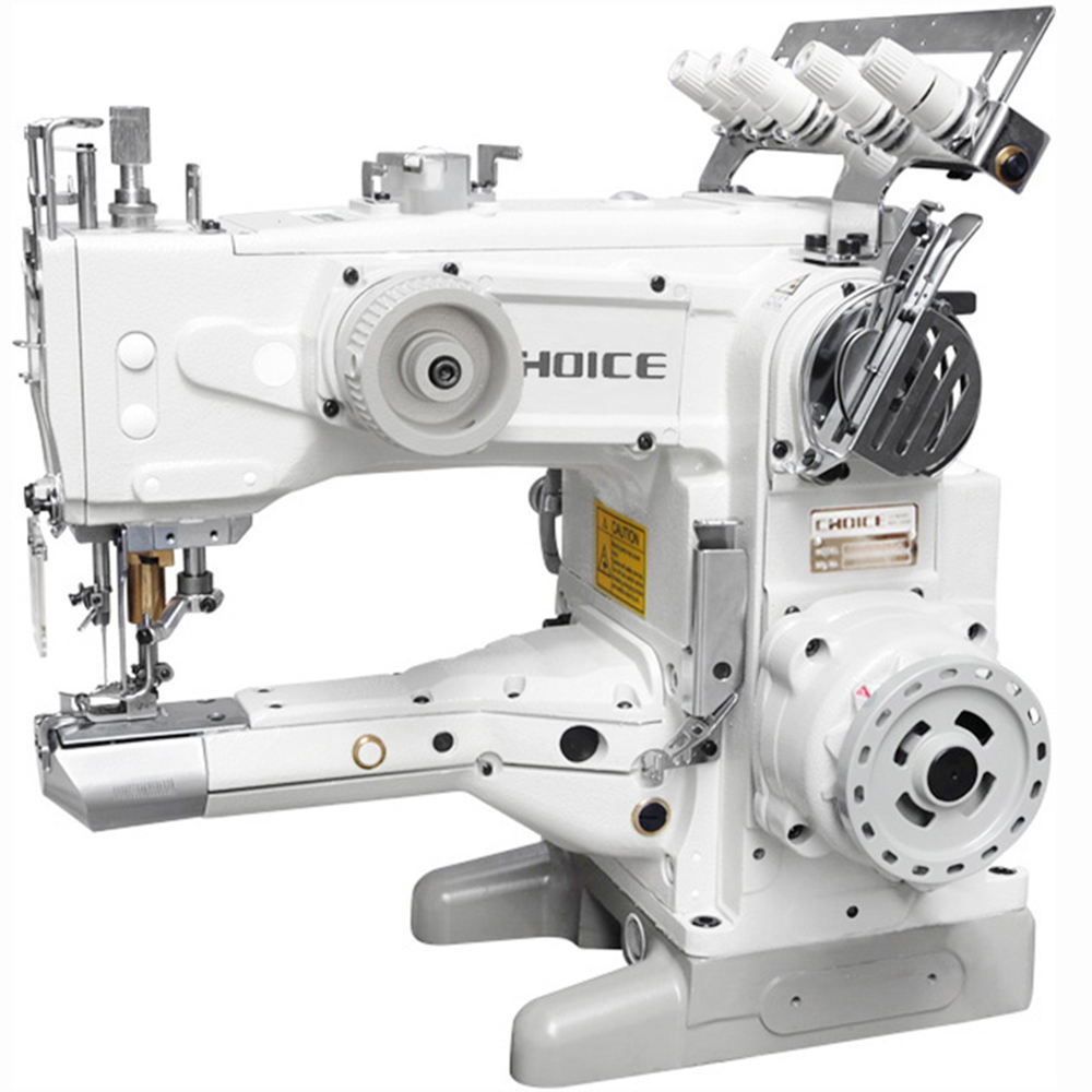 China factory oem service tailor sewing machine high quality interlock sewing machine price t-shirt industrial interlock sewing