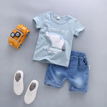 Wholesale china fashion boys kid clothes for summer