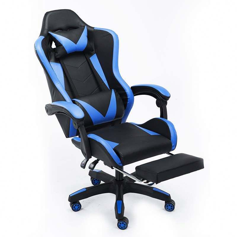 Silla GameChair azul al por mayor para Gamer
