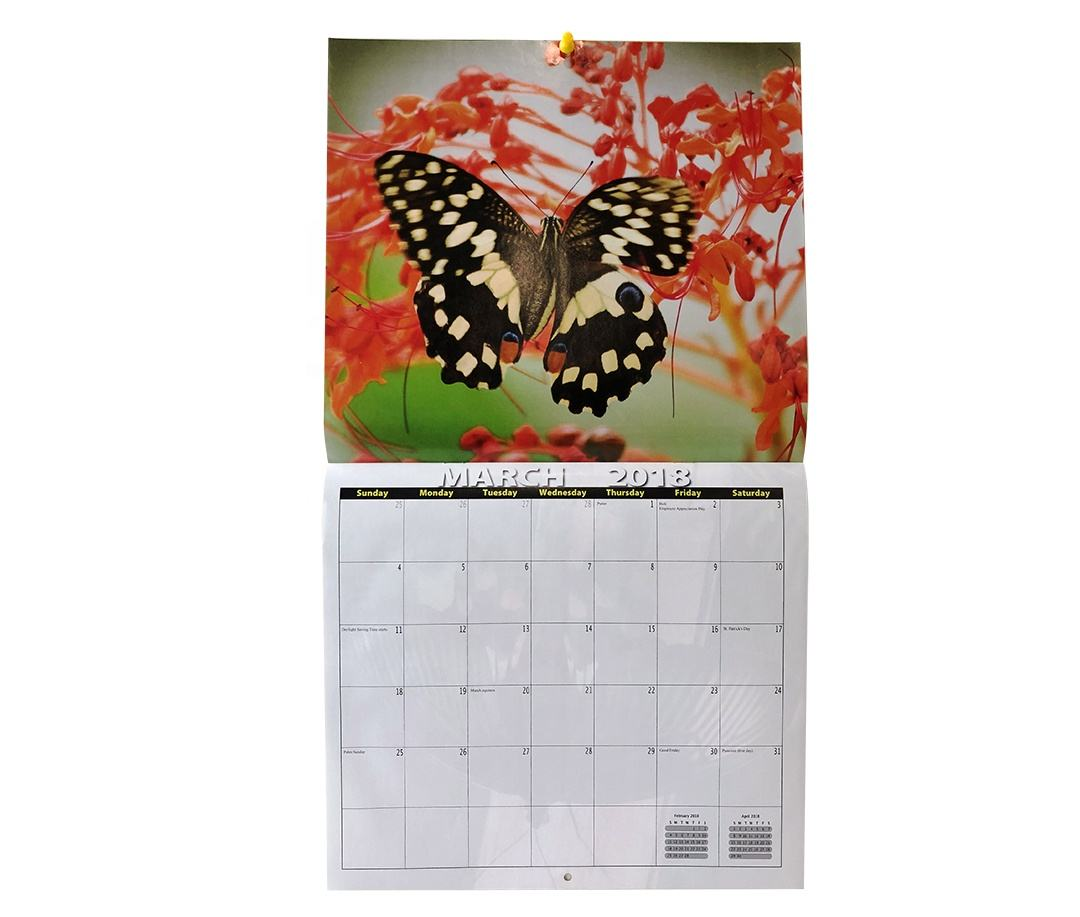 <span class=keywords><strong>Calendrier</strong></span> <span class=keywords><strong>mural</strong></span> personnalisé, <span class=keywords><strong>calendrier</strong></span> année 2020, impression écologique