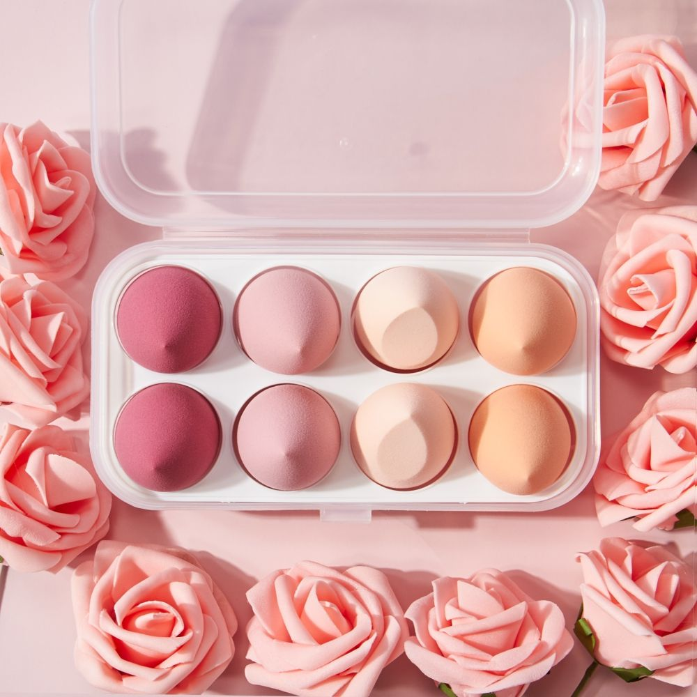 Wholesale factory price private label soft puff powder makeup sponge