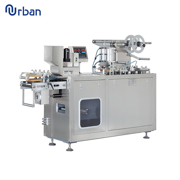 Tablet Packing Machine Pill Blister Pack Sealing Machine Heat Sealing Machine