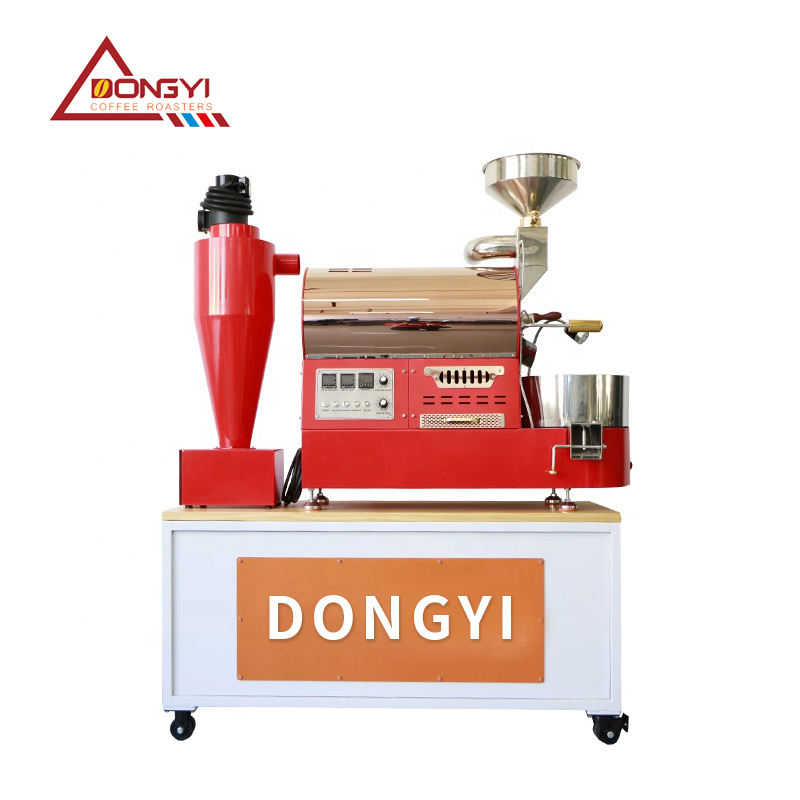 220 Voltage (V) and ISO Certification coffee roaster machine / 1kg smart coffee roaster machine hot air roasting machine with CE