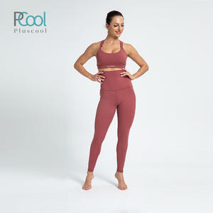 Hot selling womens gym fitness activewear maternity leggings with pocket