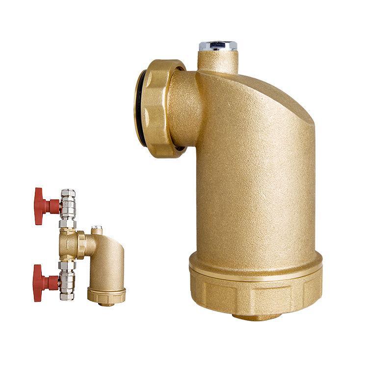Filtro de água magnético de bronze do filtro hidráulico home do banheiro de Bolier