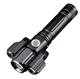 Tactical Multi Tool Flashlight Ultra-Bright Emergency Light Rechargeable Waterproof Zoom for Outdoor, Camping, Biking