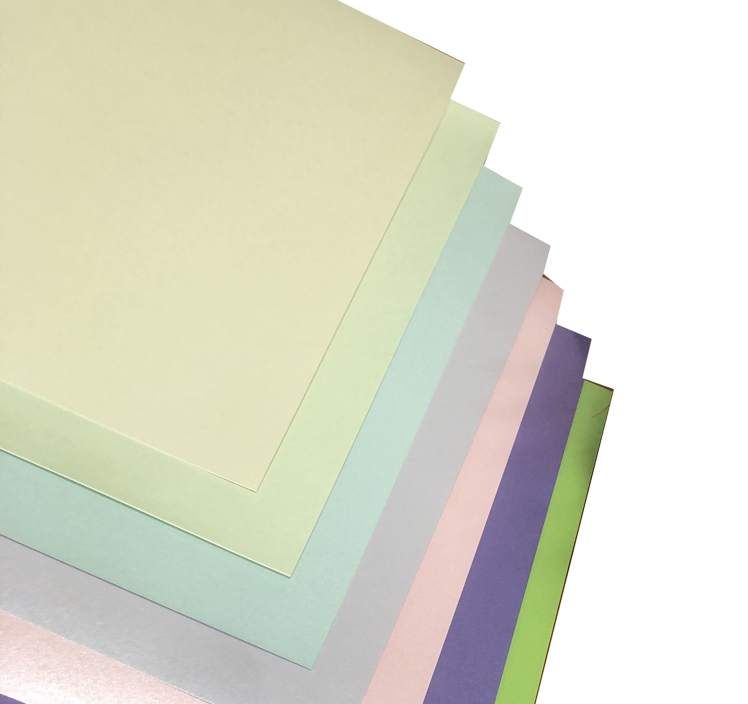 Custom Fancy A4 SIZE 120g 250g Art Pink Pearlescent Pearl Paper Shimmer Cardstock