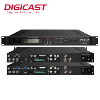 Vendita Calda Digital Tv Headend Attrezzature ISDB-T Atsc Decoder Hd H.265 Hevc Professionale Ird Digitale Ricevitore per <span class=keywords><strong>Dvb</strong></span>