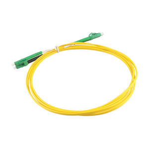 9/125 SM Duplex LC/PC to SC/PC LC-SC Fiber Optic Patch Cord Jumper Cable